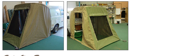 Rear Van Tent  sc 1 st  Outback C&ers & Vehicle Canvas | Outback Campers | Camper Trailers Melbourne