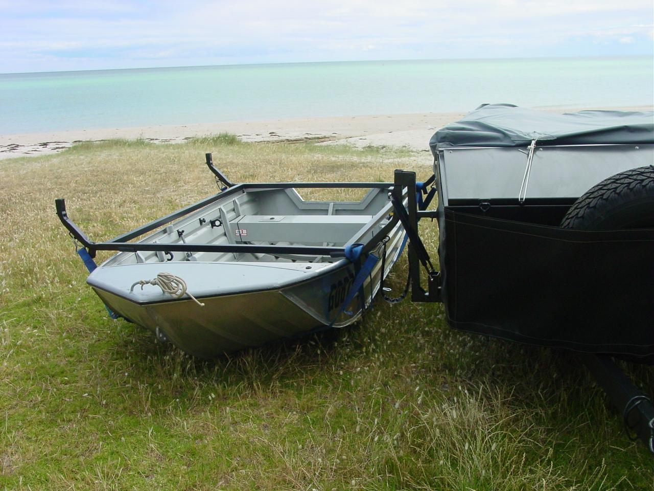 Hitch Canoe Loading Rack Rhino