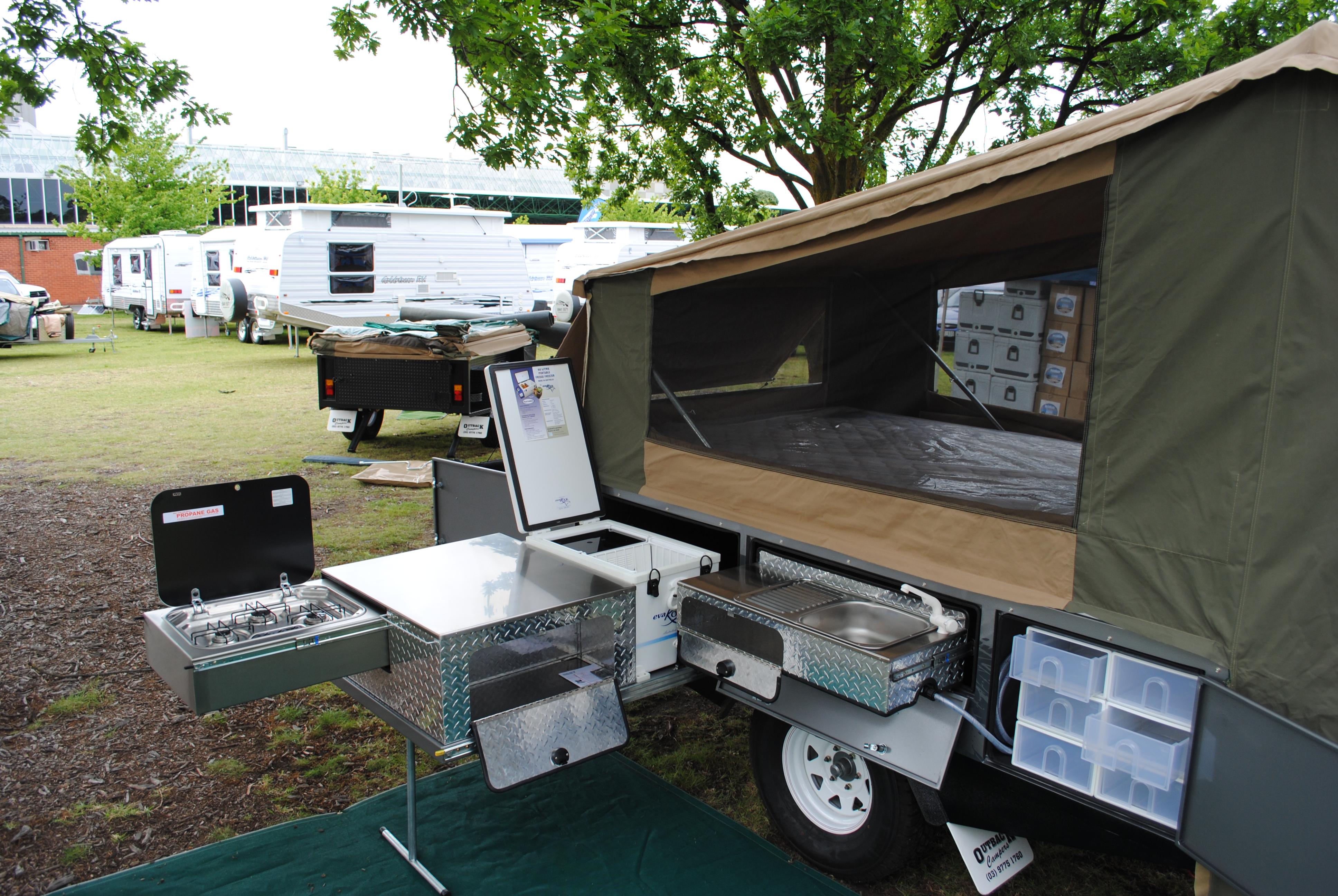 Tanami Off Road Camper Outback Campers Camper Trailers