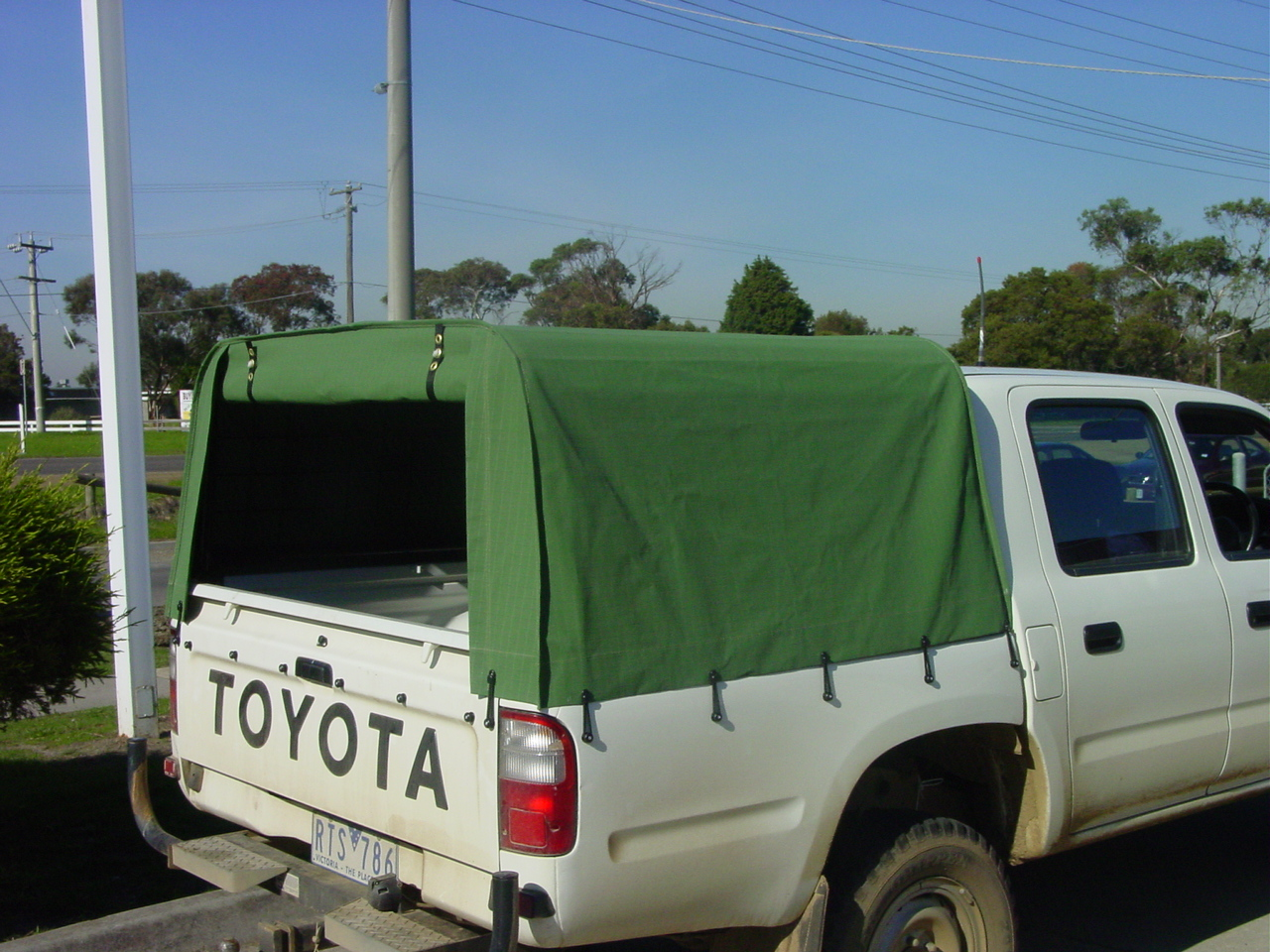 5u2032 Standard Canopy & Vehicle Canvas | Outback Campers | Camper Trailers Melbourne