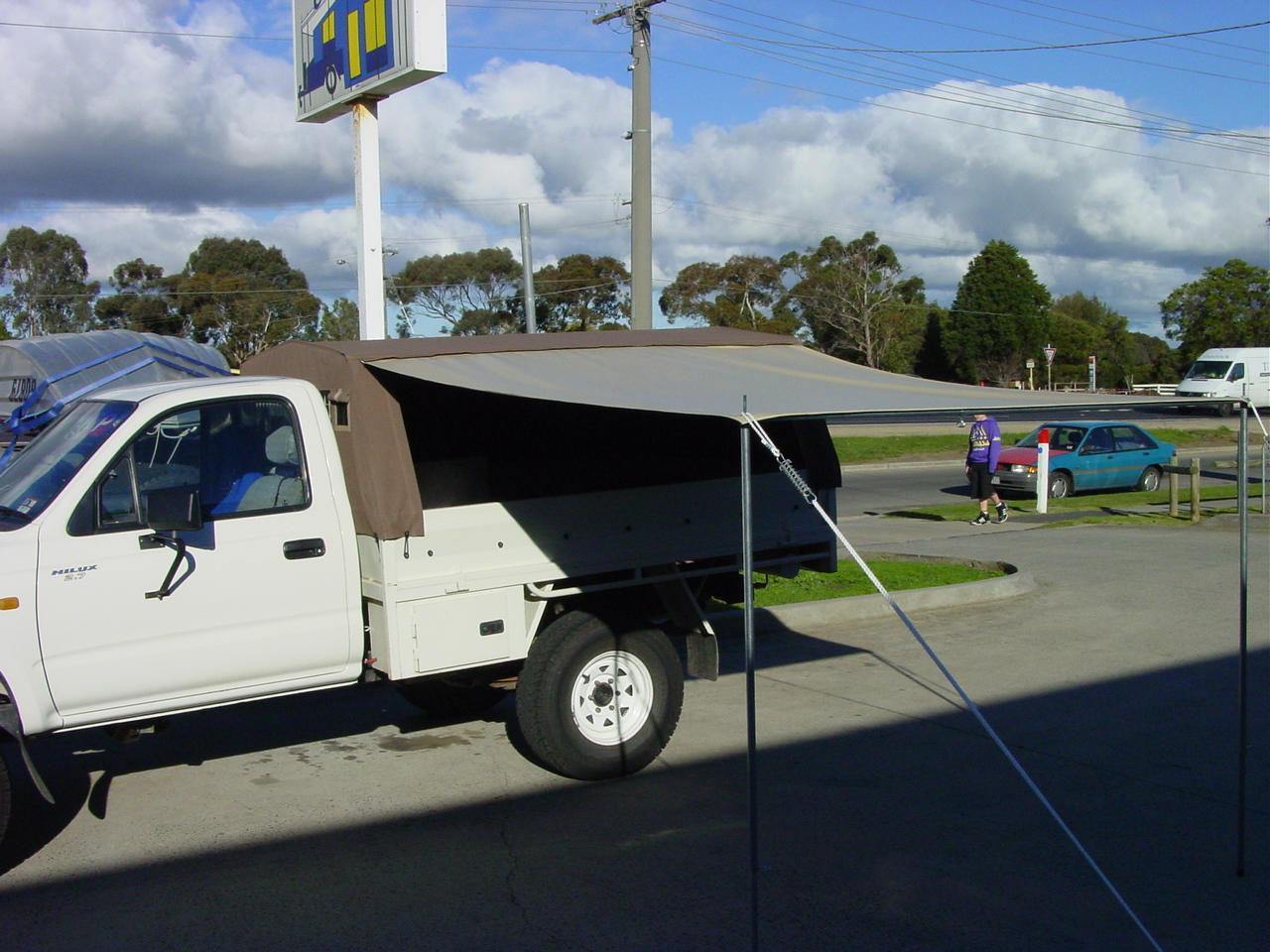 Vehicle Canvas Outback Campers Camper Trailers Melbourne