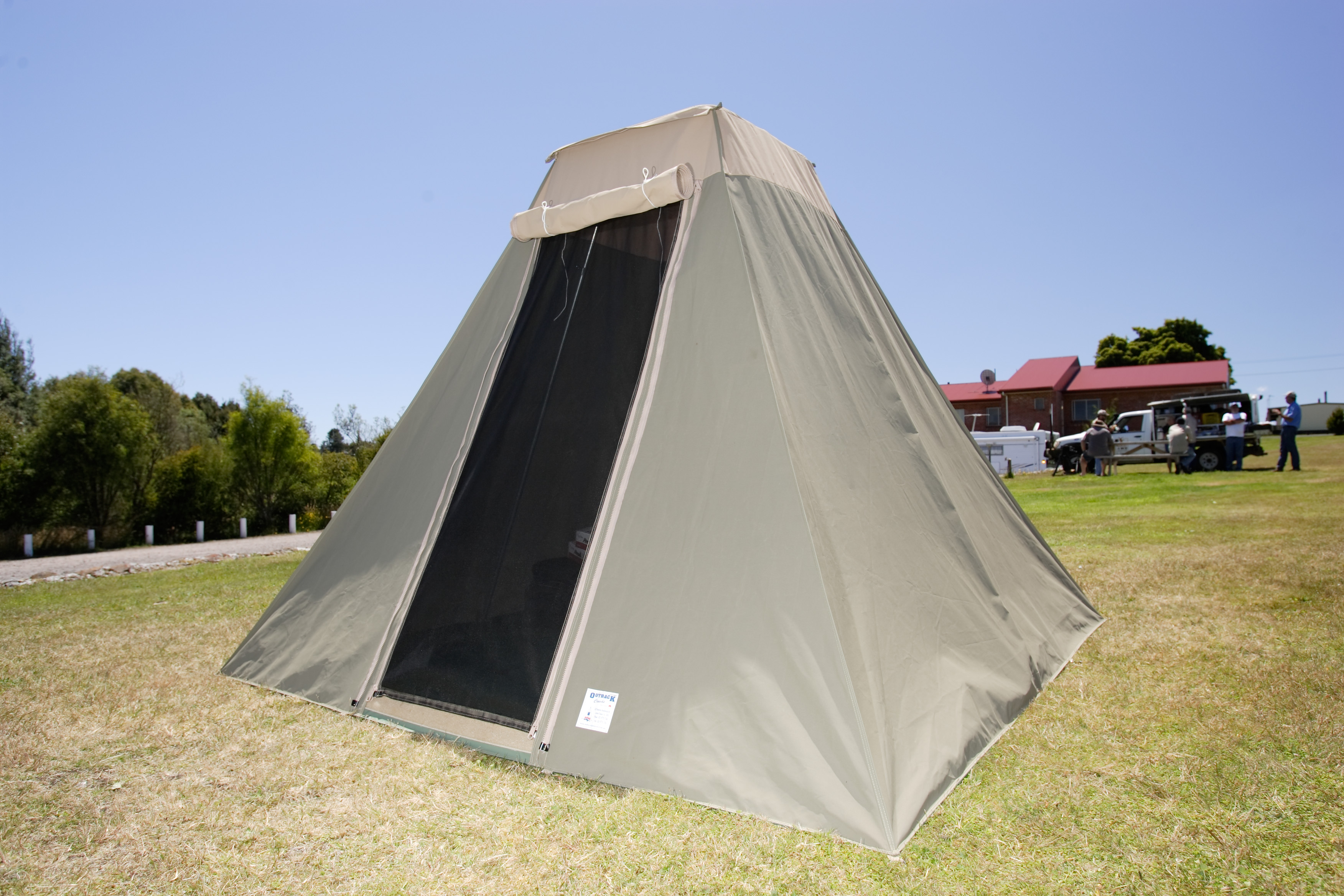 Tents and swags outback campers for How to make a canvas tent