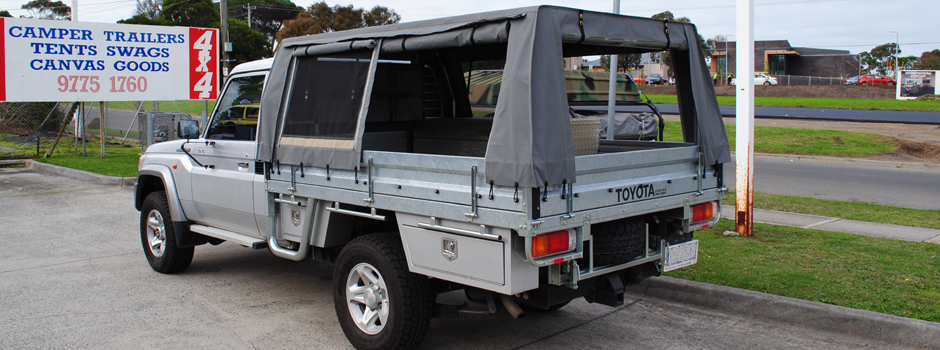 Ute Canopies & Outback Campers | Camper Trailers Melbourne