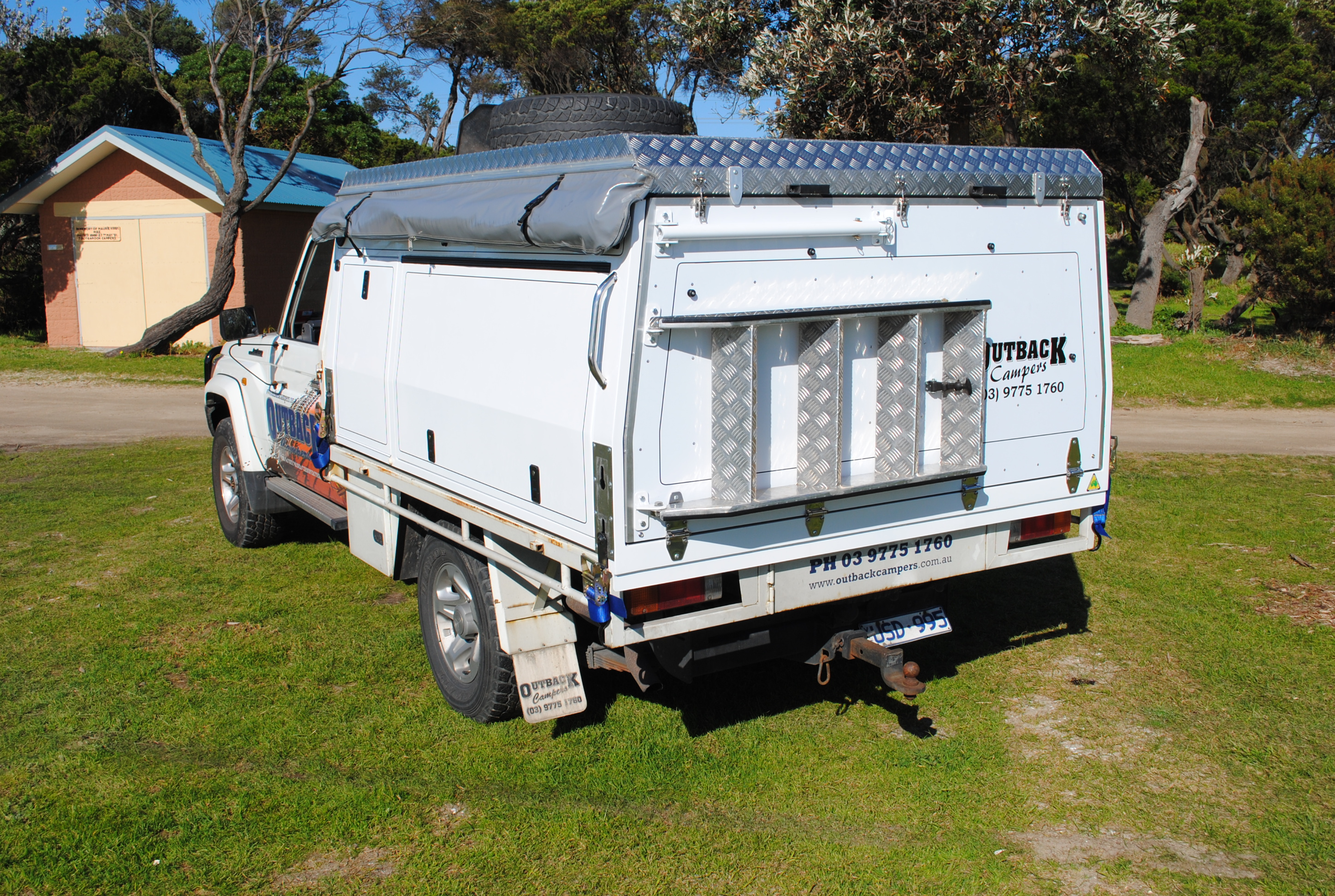 Single Cab Tray Topper Outback Campers Camper Trailers