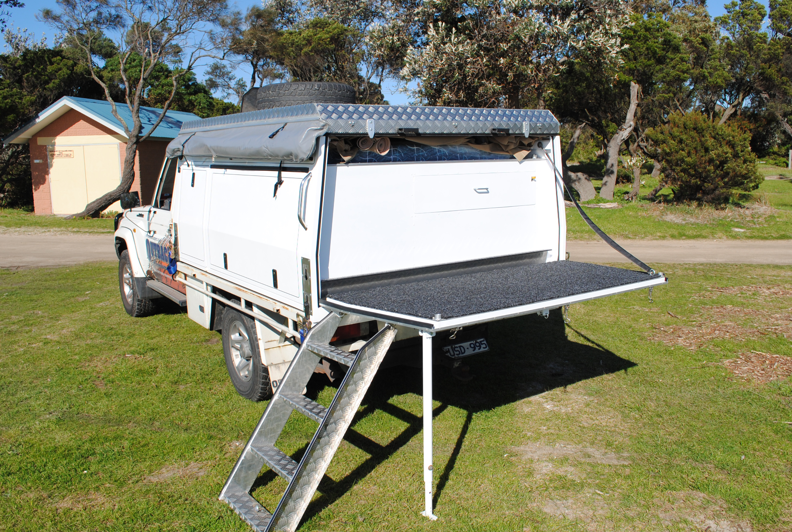 Dual Cab Outback Campers Camper Trailers Melbourne