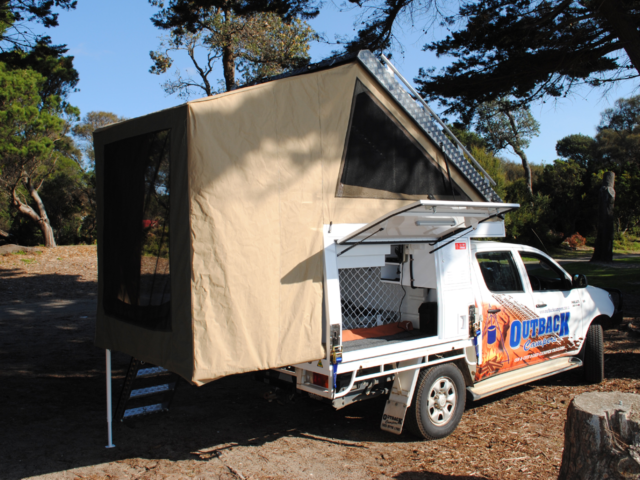 Dual Cab Outback Campers Camper Trailers Melbourne