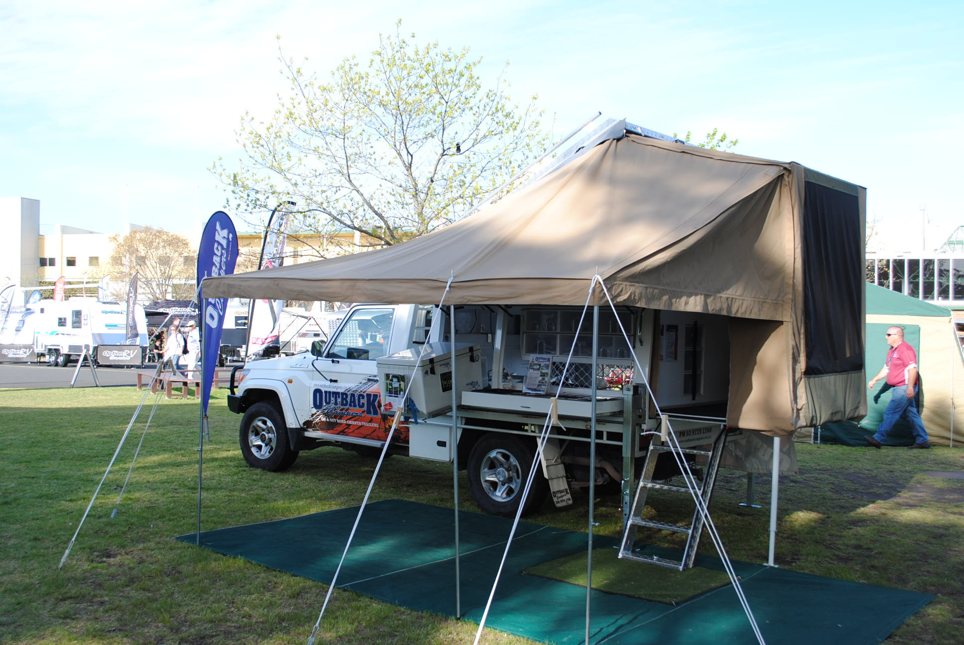 Extra Cab Outback Campers Camper Trailers Melbourne