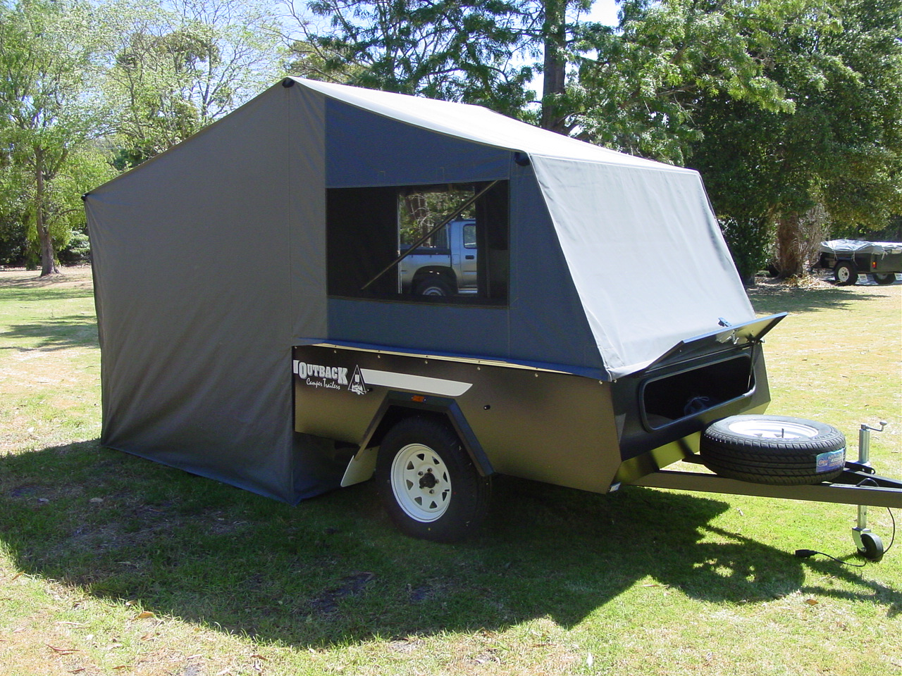 Nepean On Road Camper Outback Campers Camper Trailers
